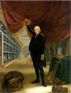 Charles Wilson Peale's The Artist in His Museum